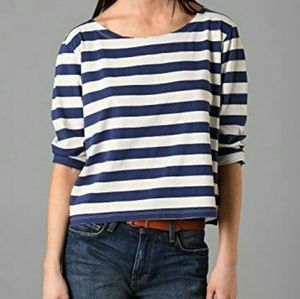 Current/Elliot Blue and White Top Size 2